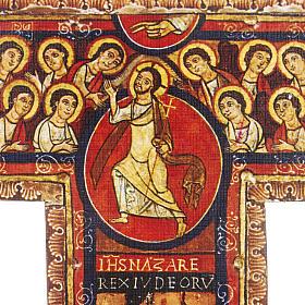 Crucifix bois St Damien différentes tailles s4