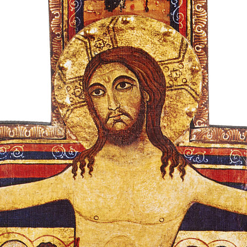 Crocifisso legno San Damiano misure diverse 5