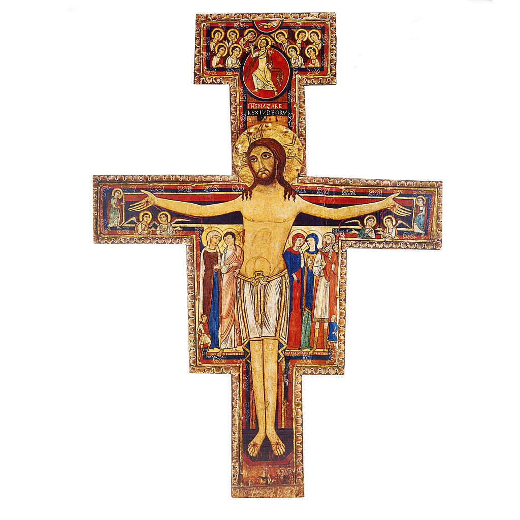 Saint Damien crucifix, different sizes 4