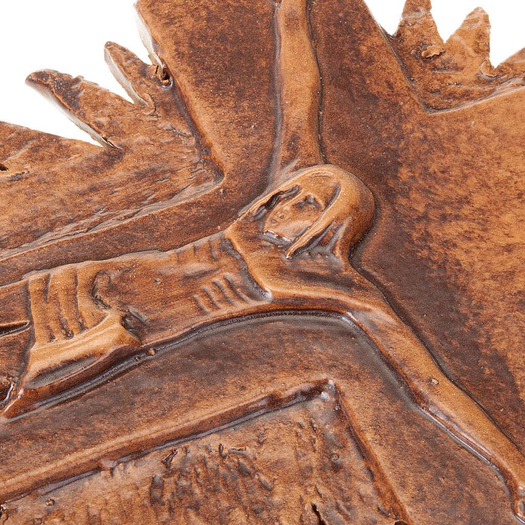 Crocifisso da muro raggi cm 23 4