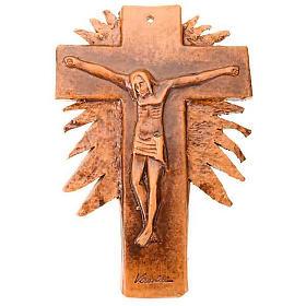 Mural ceramic crucifix  cm28 (11 in) s3