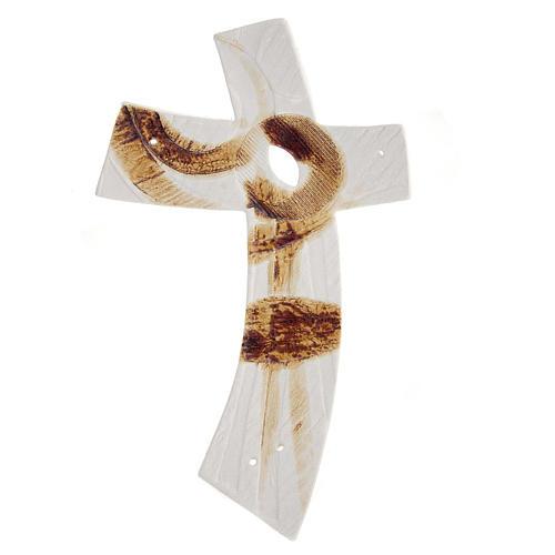 Croce Bianca ceramica 1