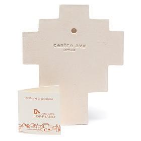 Crocetta Iris Arancio Ceramica Centro Ave s3
