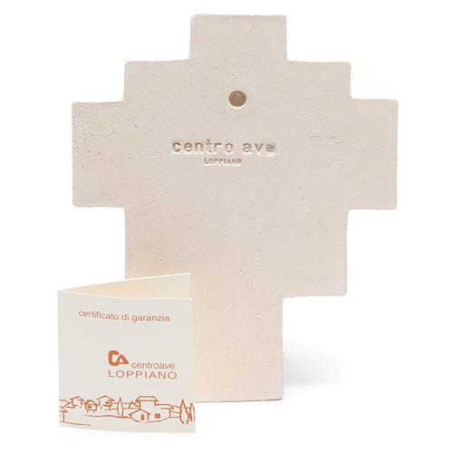 Crocetta Iris Arancio Ceramica Centro Ave 3