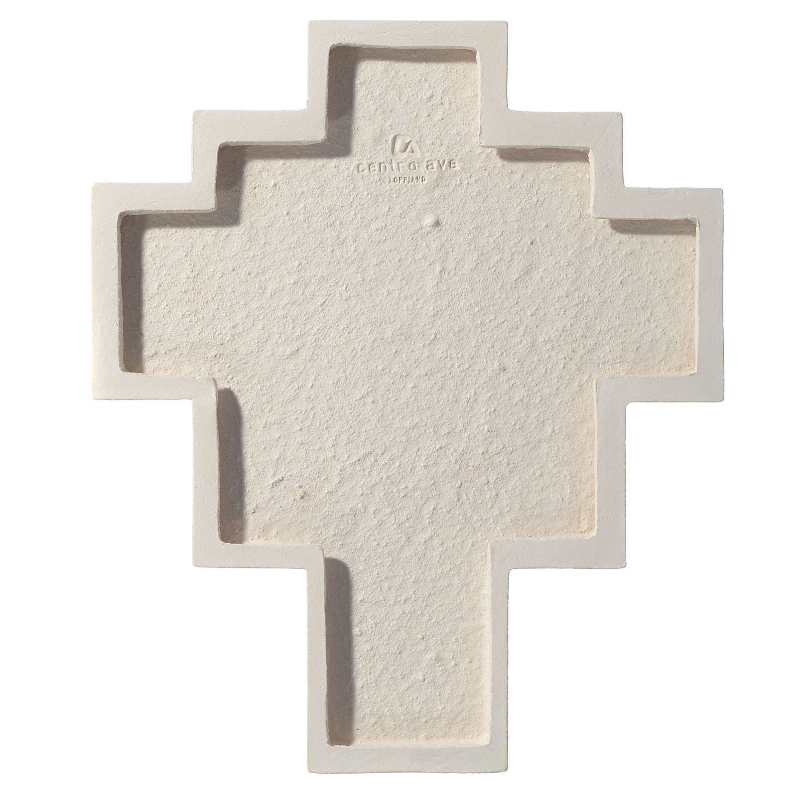 Iris cross by Ceramica Centro Ave, amaranth 27.5cm 4