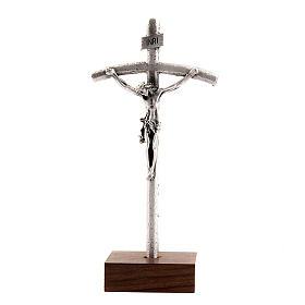 Croix du Pape Jean Paul II avec pied de base s1