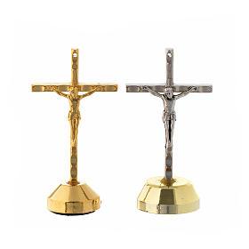 Crucifix à poser: Croix aimant, métal