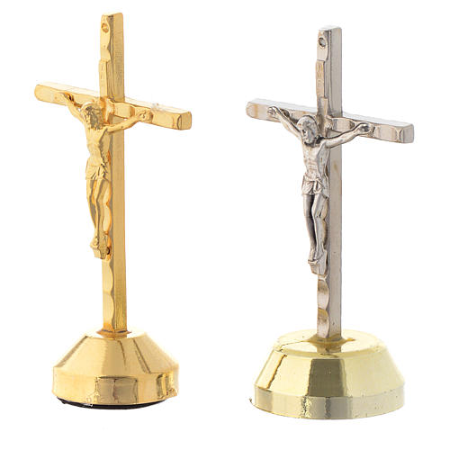 Croix aimant, métal 2