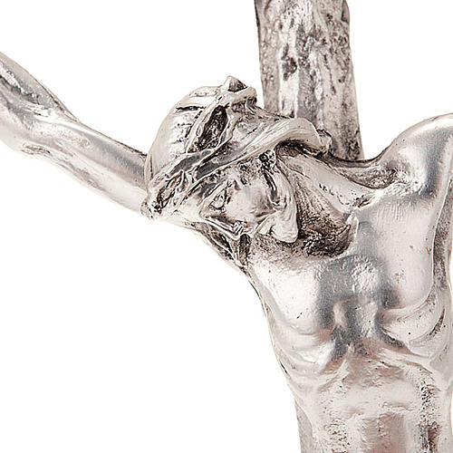 Crucifijo pastoral Juan Pablo II -con base- 2