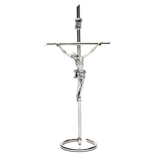 Kruzifix fuer Tisch kreise Basis 1
