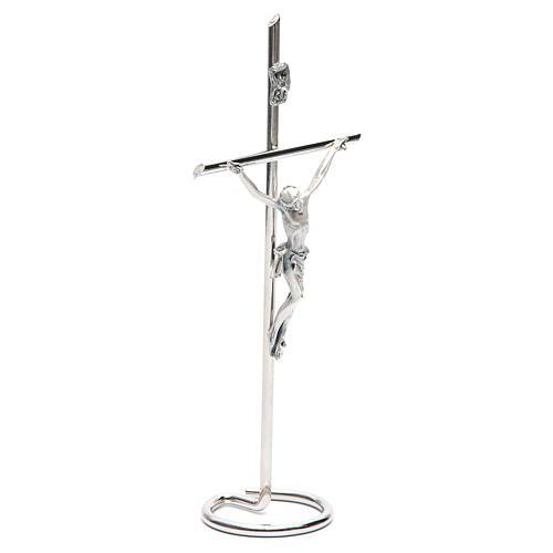 Kruzifix fuer Tisch kreise Basis 3