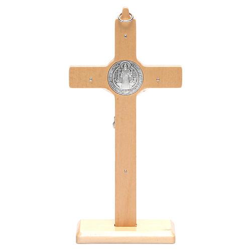 Kruzifix Heilig Benedictus Tisch oder um zu haengen 4
