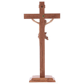 Multi-patinated table crucifix, Corpus model in multi-patinated s5