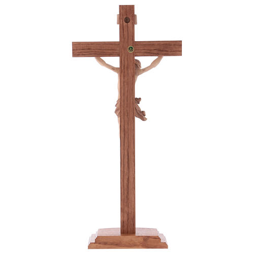 Multi-patinated table crucifix, Corpus model in multi-patinated 5