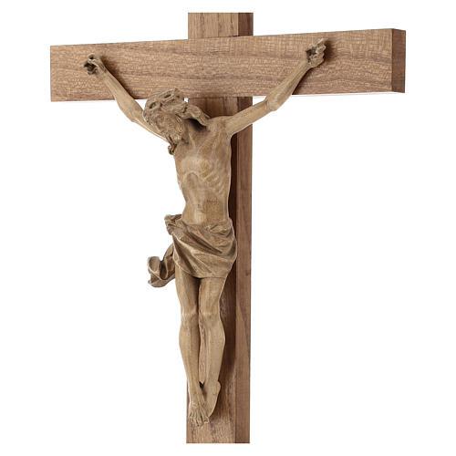 Crucifix à poser bois patiné mod. Corpus 2