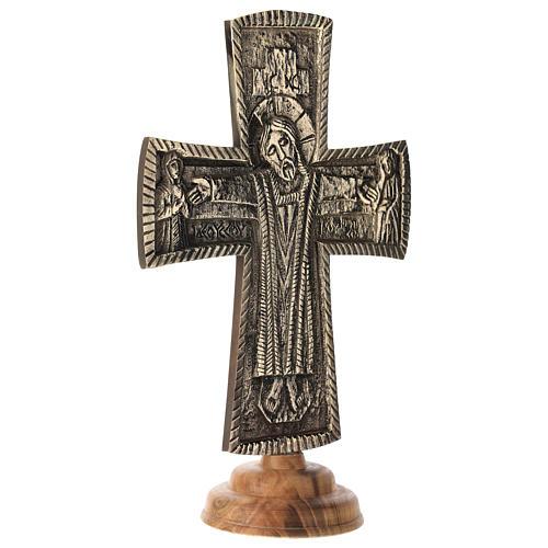 Altar crucifix Jesus Pretre Bethlehem 12x8 inc 4