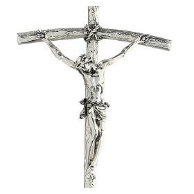 Crucifix pastoral Jean Paul II 12x28 cm s2