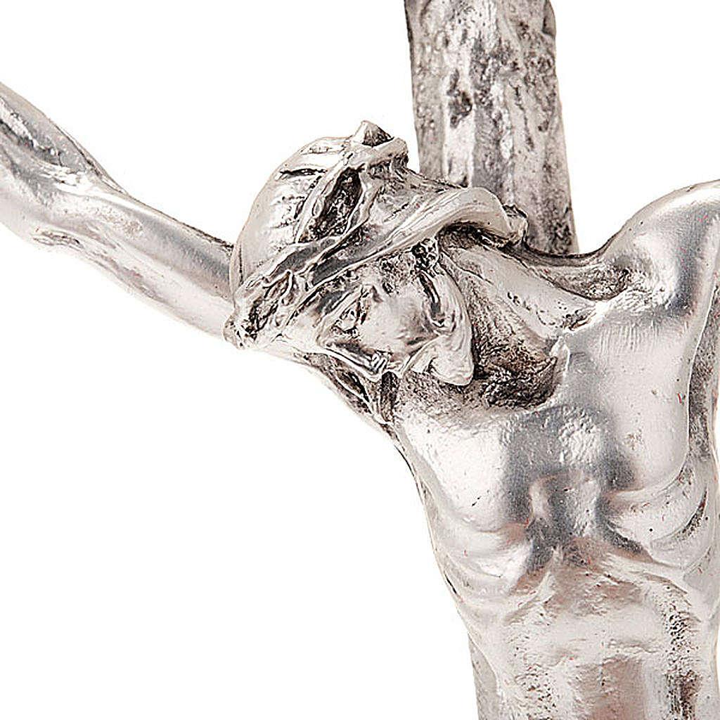 Crocefisso pastorale Giovanni Paolo II 12x28cm 4