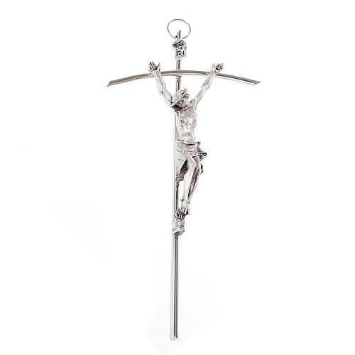 Crucifix croix pastorale de Jean Paul II 9.4 cm 1