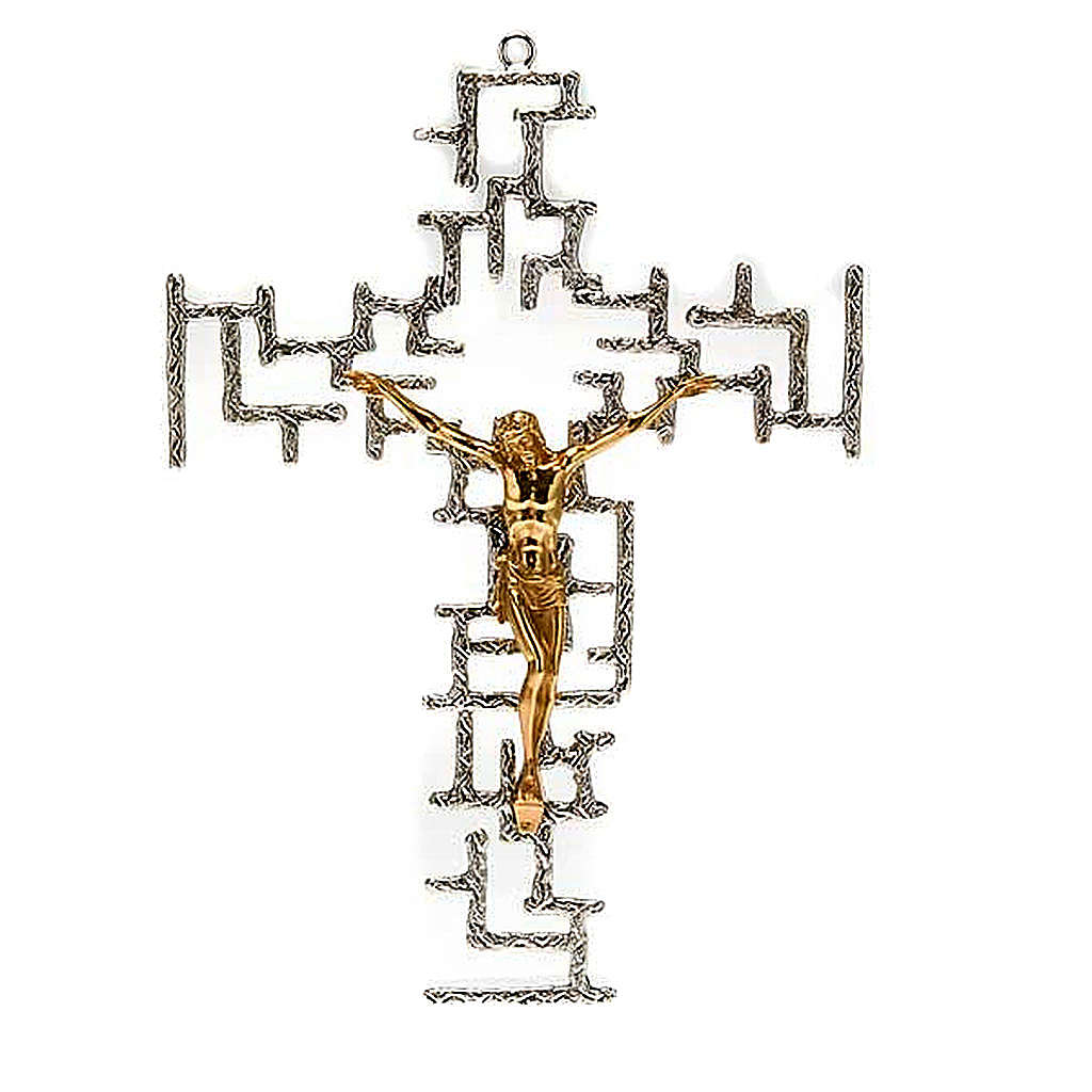 Crucifix moderne en bronze 4
