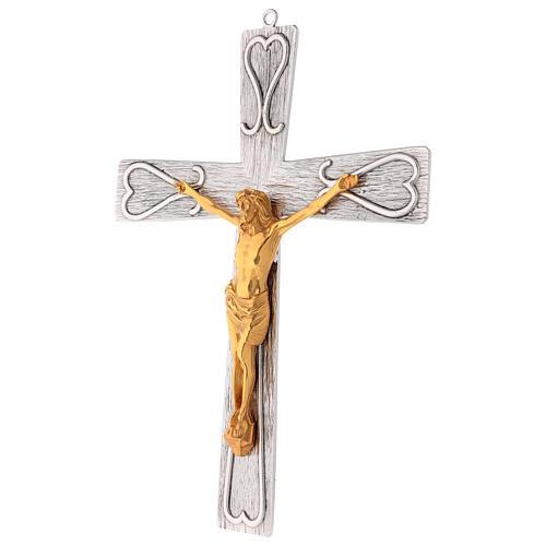 Crucifix en bronze, décoré 3