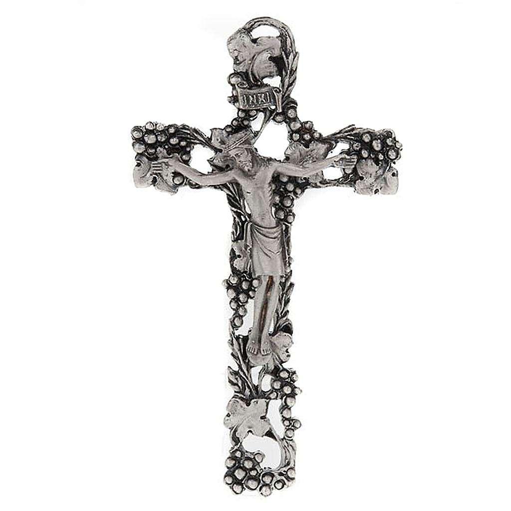 Decorative Crucifix with Grapes 4