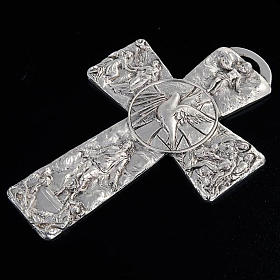 Croce argentata deposizione resurrezione ascensione Sp. Santo s4