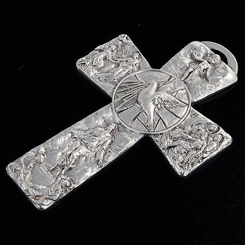 Croce argentata deposizione resurrezione ascensione Sp. Santo 4