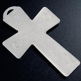 Krzyż posrebrzany zdjęcie z krzyża zmartwychwstanie wniebowstąpienie Duch święty s5
