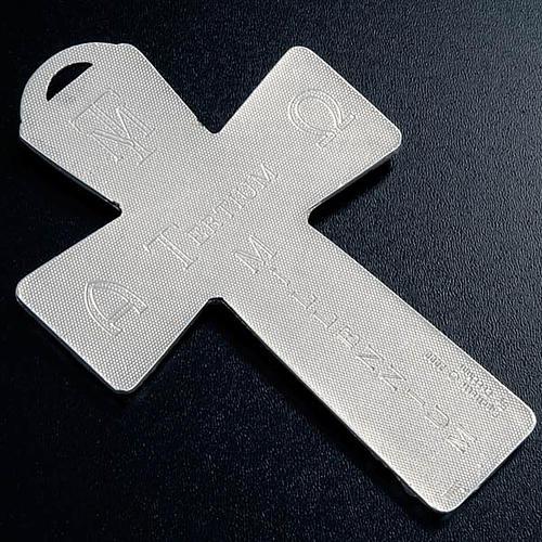 Krzyż posrebrzany zdjęcie z krzyża zmartwychwstanie wniebowstąpienie Duch święty 5