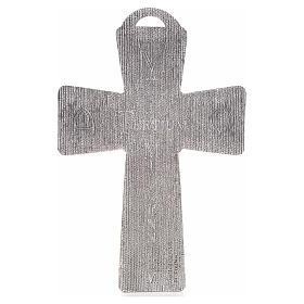 Croce argentata deposizione resurrezione ascensione calice pane s3