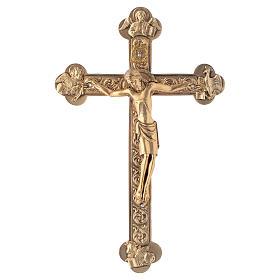 Crucifix métal 4 évangélistes s2
