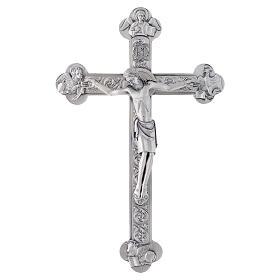 Crucifix métal 4 évangélistes s3