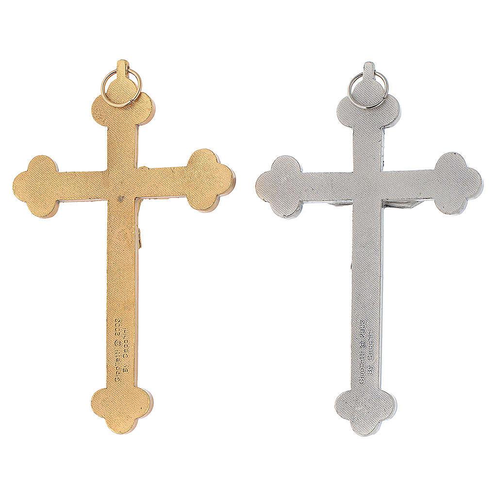Crucifix métal Saint Esprit calice 4