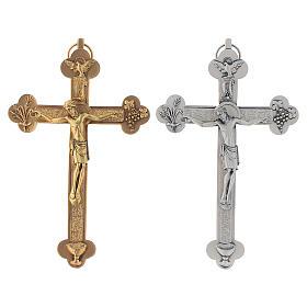 Crucifix métal Saint Esprit calice s1