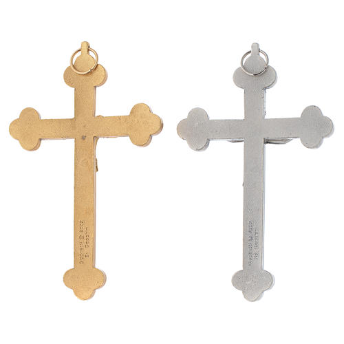 Crucifix métal Saint Esprit calice 2