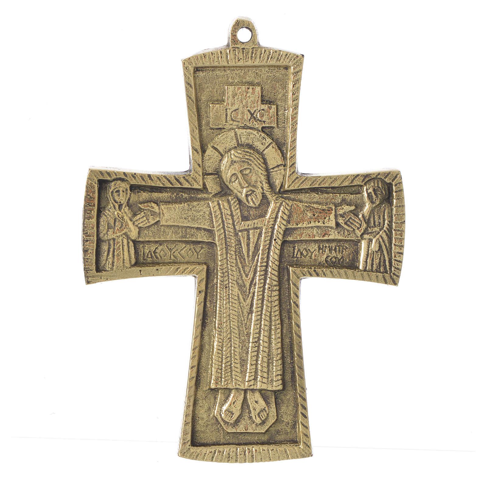 Croce Jésus grand prêtre ottone Monaci Betlemme 14x10 4
