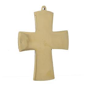 Jesus Priest and King Crucifix Bethlehem Monks 14x10 s3