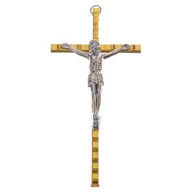 Crocefisso Metallo dorato 11cm s1
