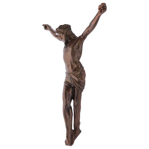 Corps du Christ laiton bronzé 67cm 3
