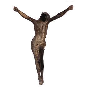 Corpo di Cristo ottone bronzato 67 cm s5