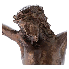 Body of Christ bronzed brass 67 cm s2