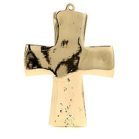 Jesus Priest and King Crucifix Bethlehem Monks 13x9,5cm s3