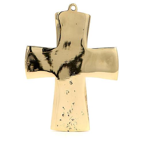 Jesus Priest and King Crucifix Bethlehem Monks 13x9,5cm 3