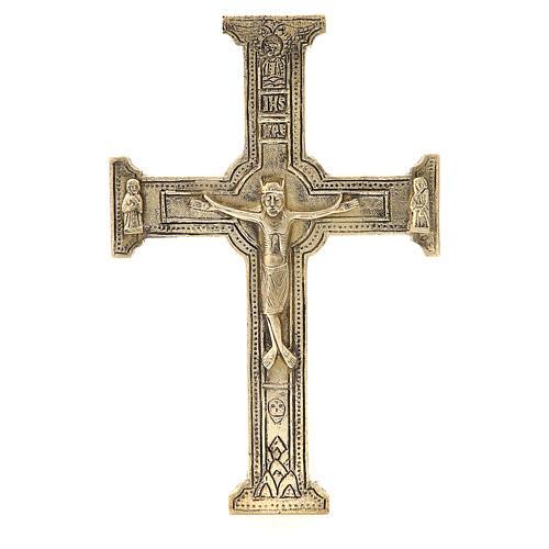 Crucifix Bethlehem Monks 29x19cm 1