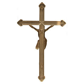 Polished Brass Crucifix measuring 46 cm s4