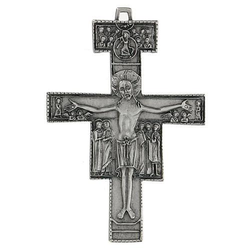 Croce di San Damiano da parete 12 cm zama 1