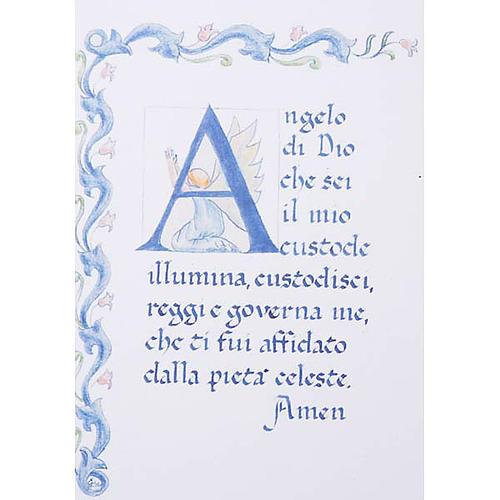Tau de parede com cartolina oração 4