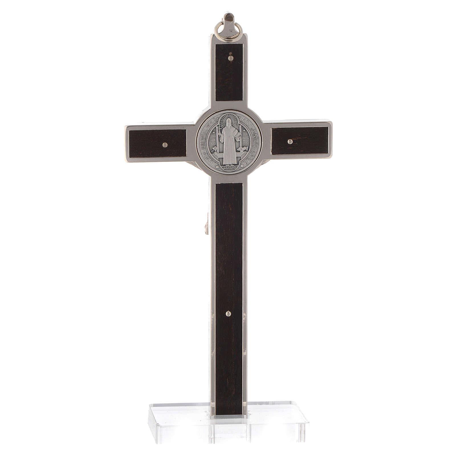 Croix St. Benoit base en plexiglas 4