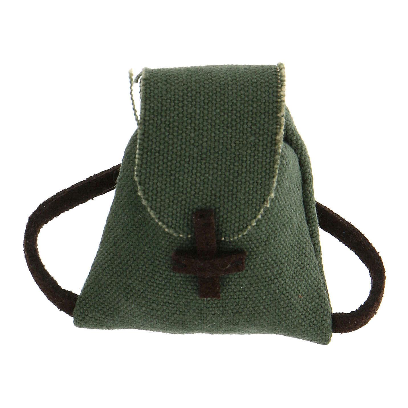 Colgante Cruz de San benito plata 925 4